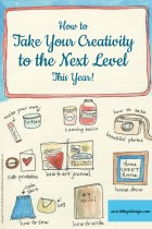 How to Take Your Creativity to the Next Level This Year