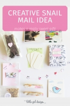 A Creative Idea for Snail Mail