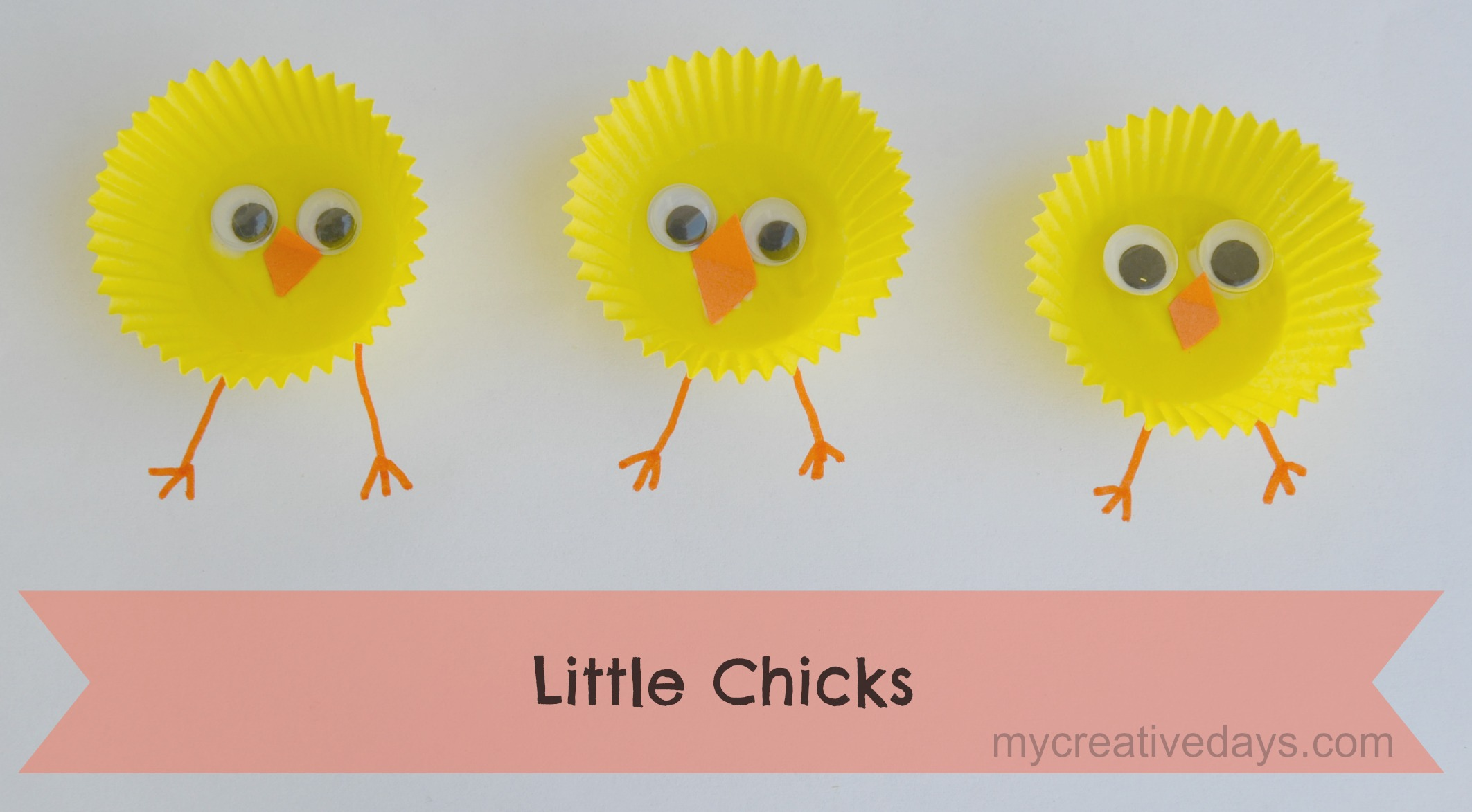 Four creative Easter crafts for kids that you'll love @littlegirldesigns.com