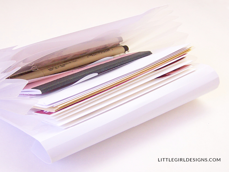 how to make a letter writing kit