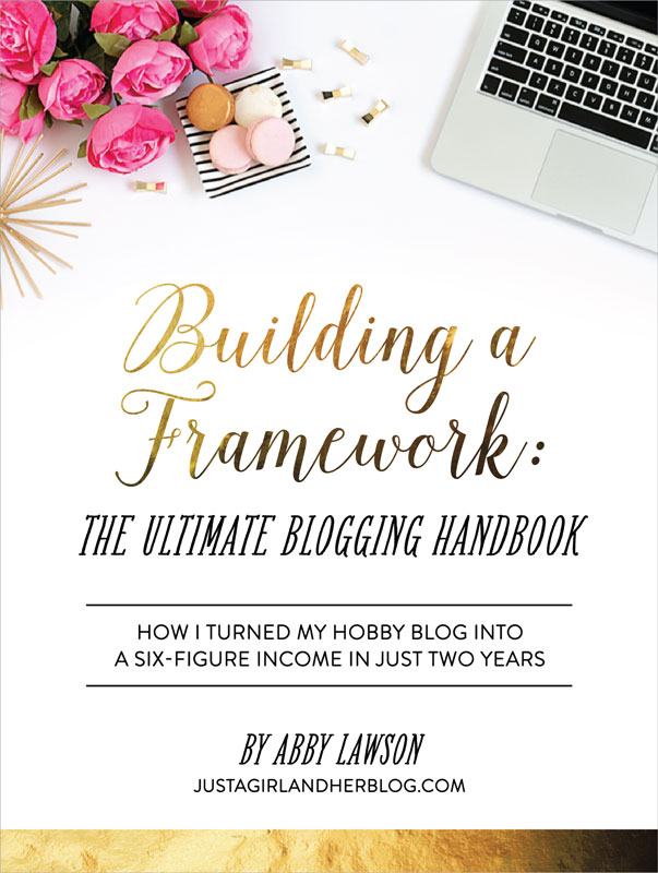Building a Framework - The Ultimate Blogging Handbook