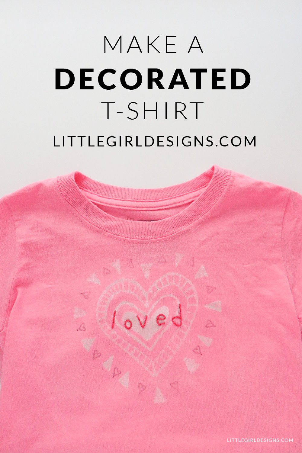 Make A Decorated Tshirt  Use A Paint Pen, Ironon Transfer