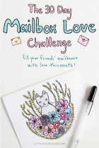 More About the #30DayMailboxLove Challenge