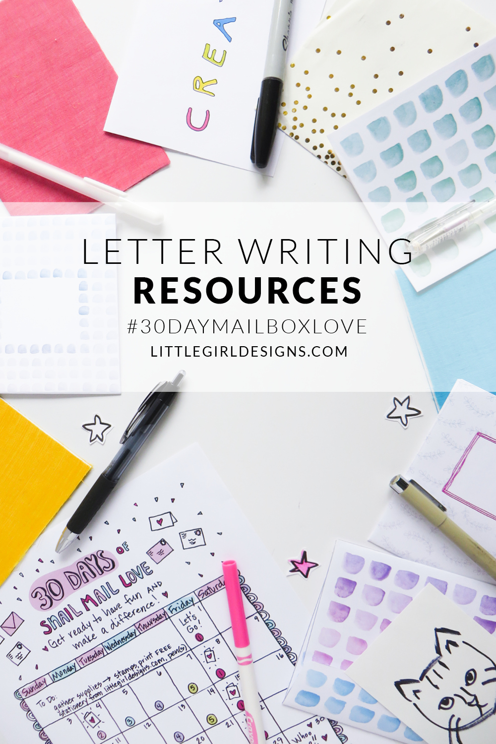 Looking for some fun letter-writing resources? I'm sharing several of my favorites today as I'm kicking off a month of #snailmail posts on the blog. Come see if your favorites made the list!