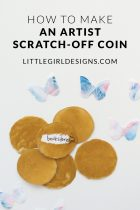 How to Make Artist Scratch-Off Coins