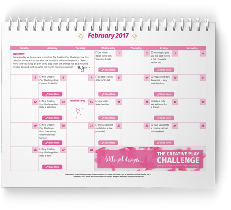 The Creative Play Challenge February Download