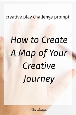 Click to learn how to create a map of your creative journey. I love how everyone's maps are so different and unique, just like our lives!