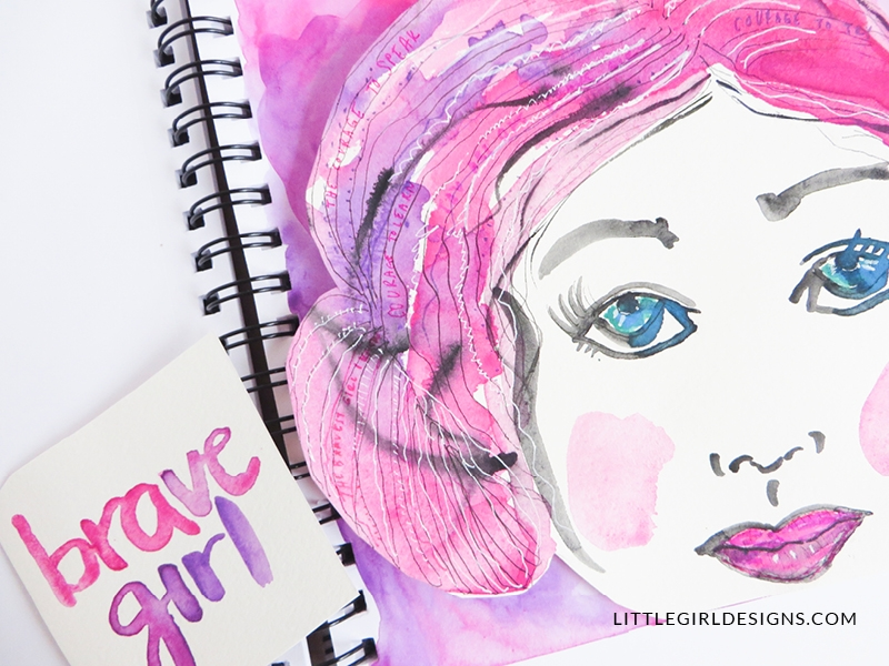 Wouldn't it be fun to go on an art-journaling retreat? Today I'm going to show you how you can DIY your own art-journaling retreat from the comfort of your own home. Grab your sketchbook and let's art journal!