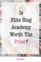 Is Elite Blog Academy Worth The Price?