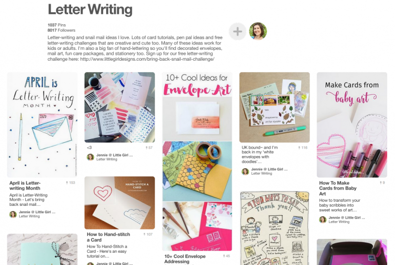 Follow my letter-writing Pinterest board for more fun letter writing, card making, and snailmail ideas.