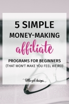 5 Affiliate Programs That Won't Make You Feel Weird