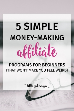 """I'm so not a salesperson but after I read this post, I realized that """"marketing"""" is really just sharing what I love with my family and friends. And my blog people are definitely my friends! :) This is so awesome—I'm excited to get started with making money through my blog now"""