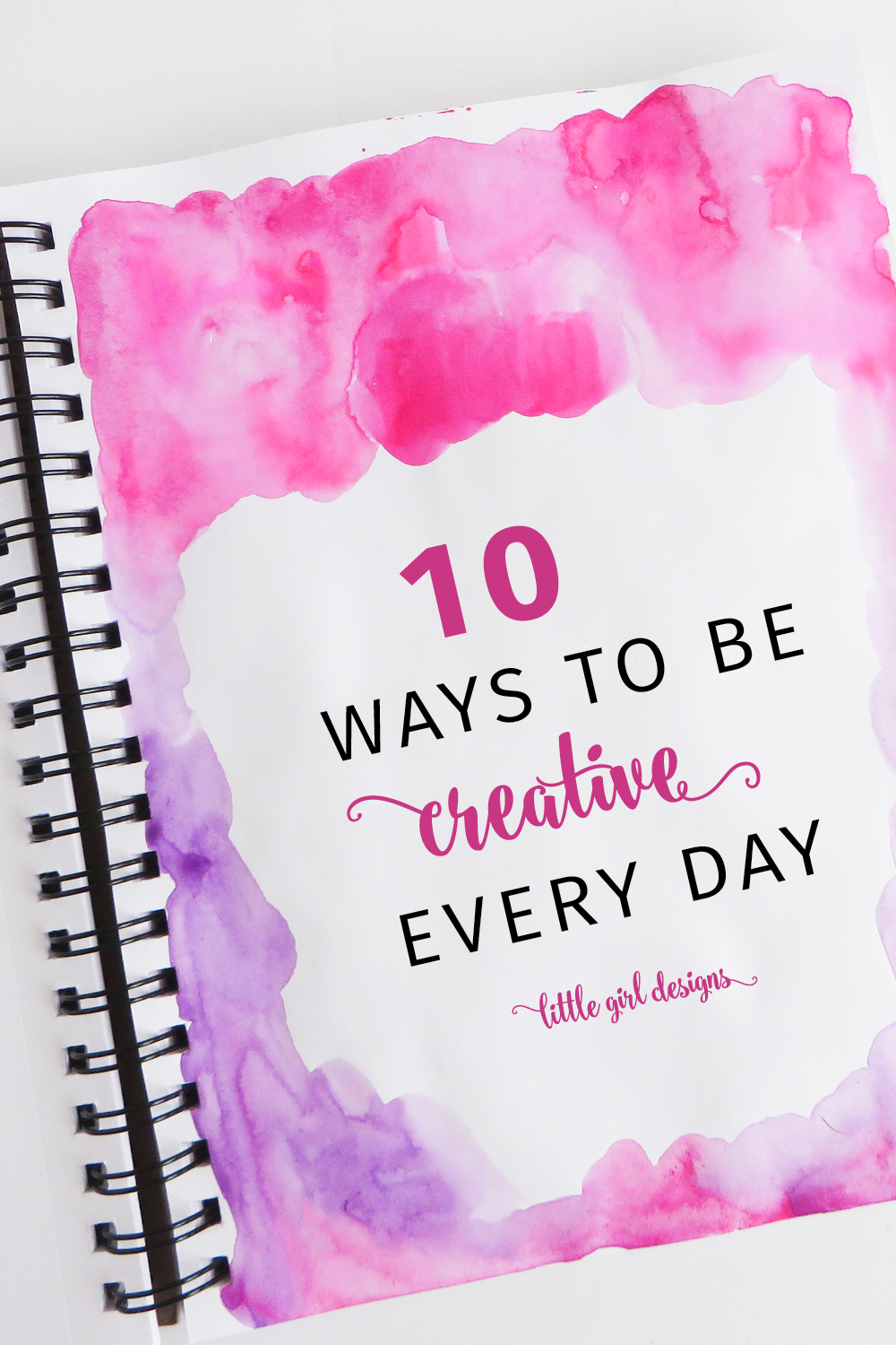 I want to be more creative this year, and am bookmarking this post because I need to hear it daily! I'm taking baby steps to being more creative every day and my family wants to thank you. I do too!