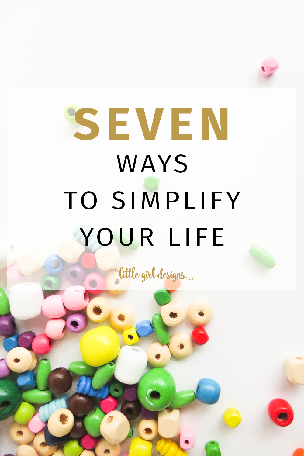 Finally, kid-friendly and real ways to simplify your life! I'm going to work on #1 and #7 this month!