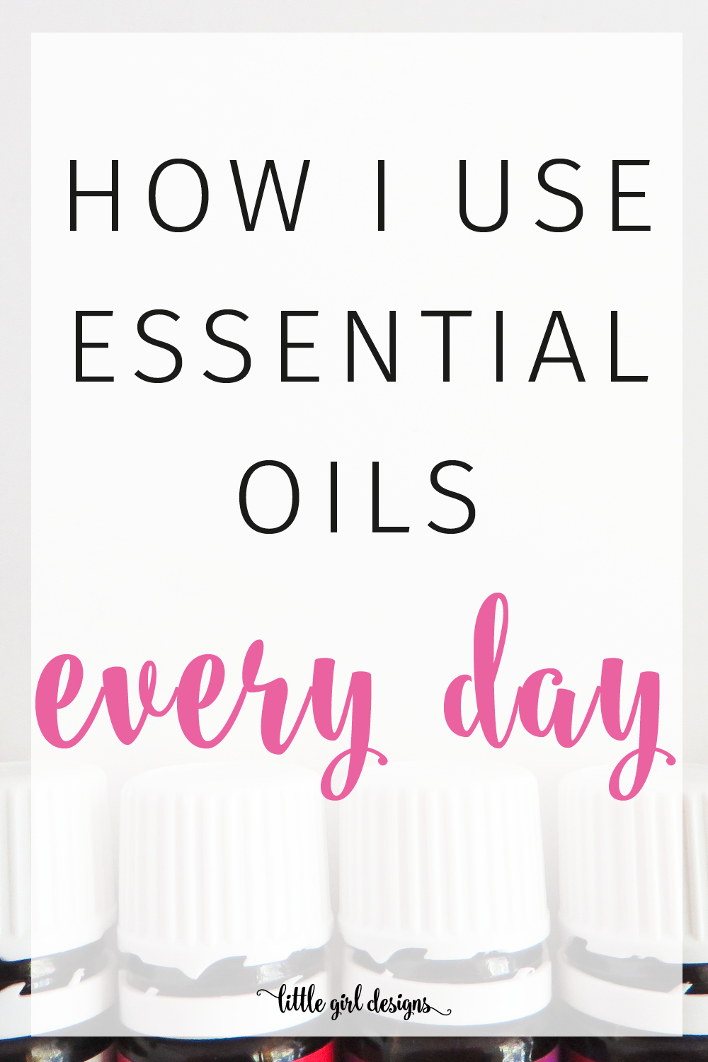 Oh my goodness, I've been wanting to get into essential oils but I was worried I would buy them and they would sit on the shelf. This post helped me see all of the different ways to use them every single day. LOVE this!