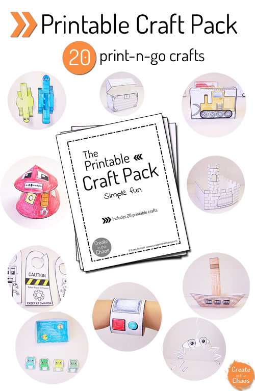 Witty image within printable craft