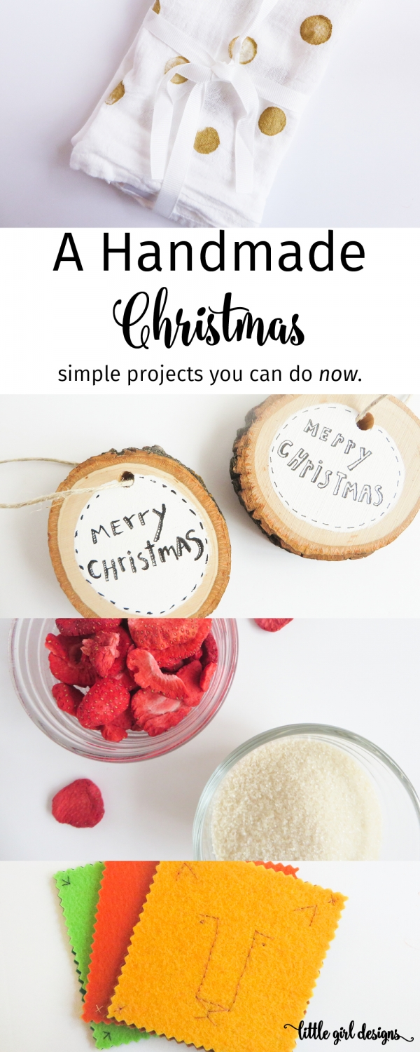 A Handmade Christmas — Simple Gifts You Can Make NOW - Jennie Moraitis